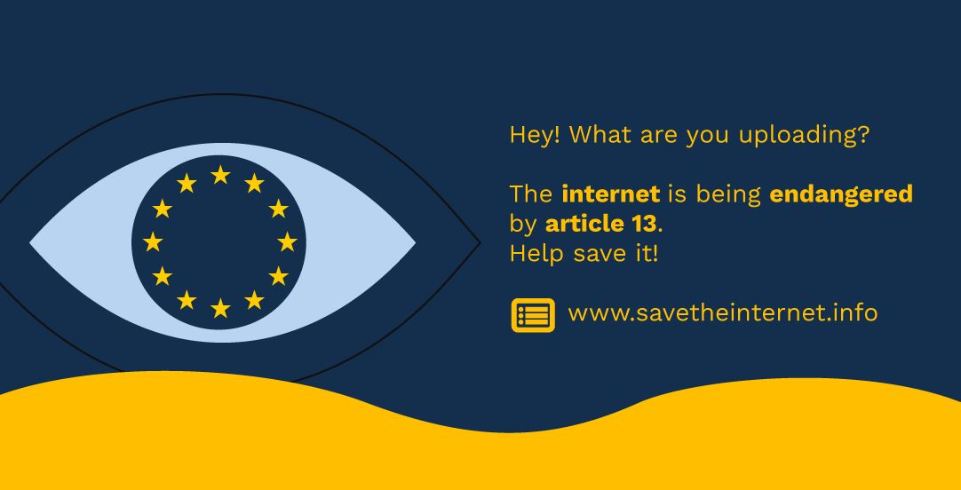 How to stop article 13? 5 things you can personally do to join the Article 13 protest