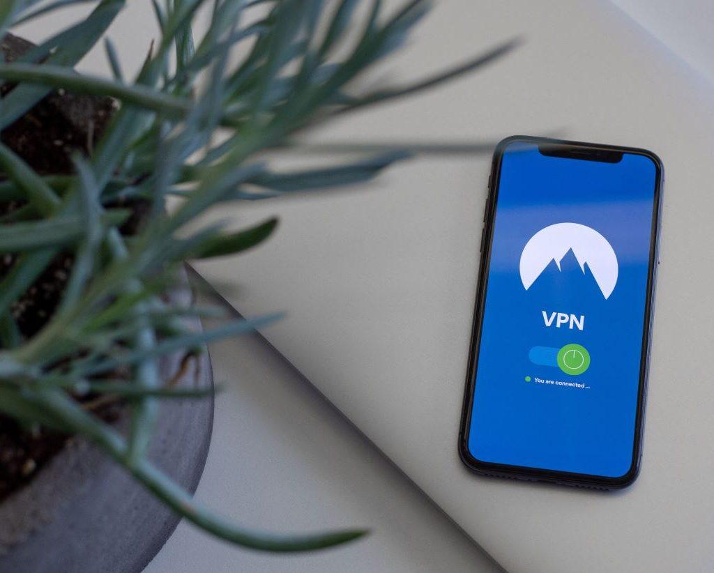 VPN on a smartphone