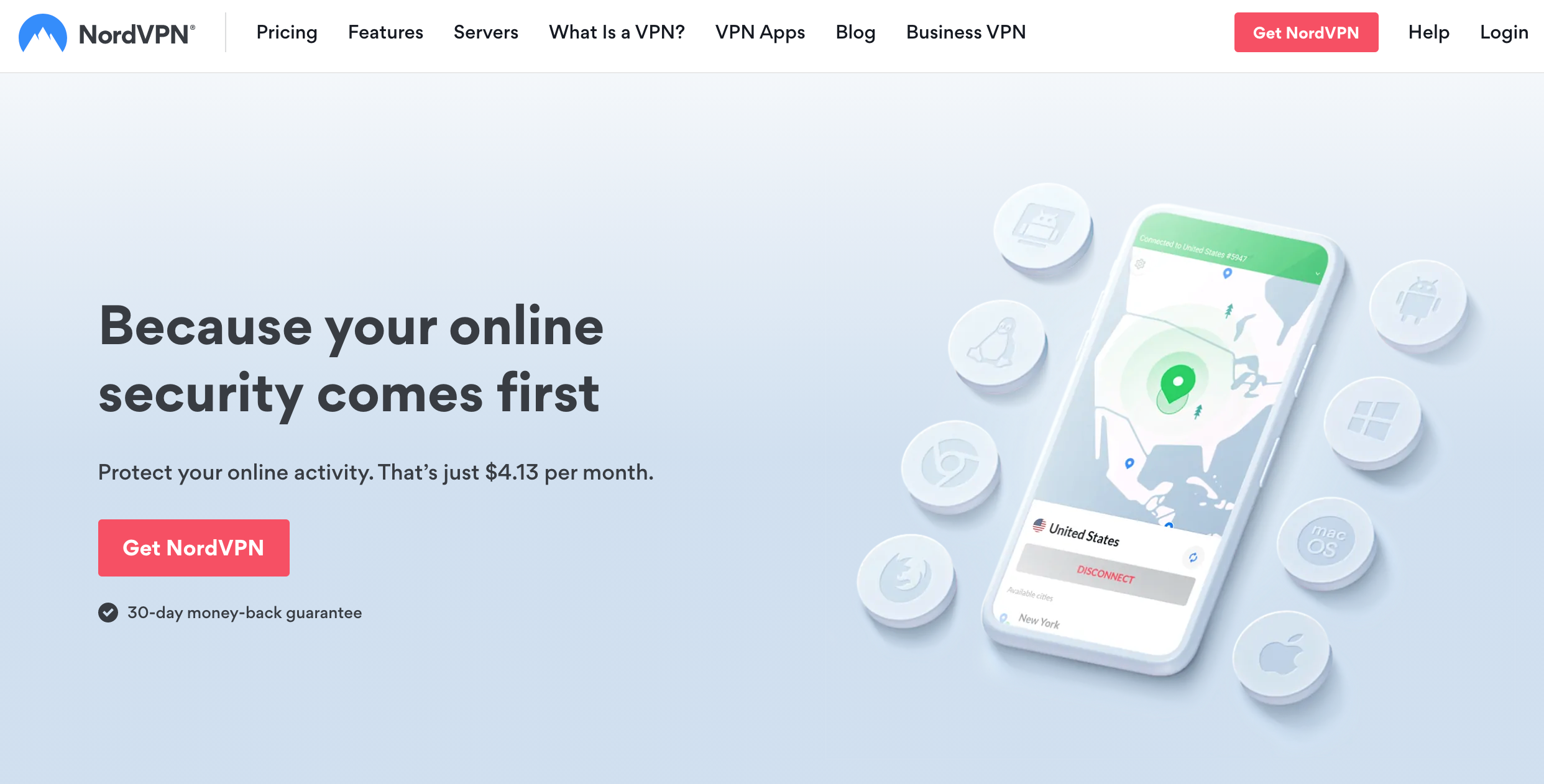 Get the best VPN deal with NordVPN