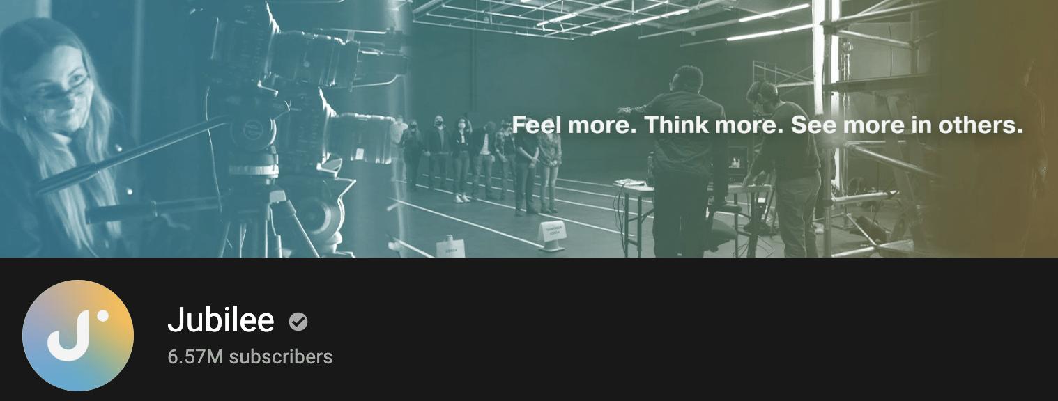 Jubilee YouTube Banner