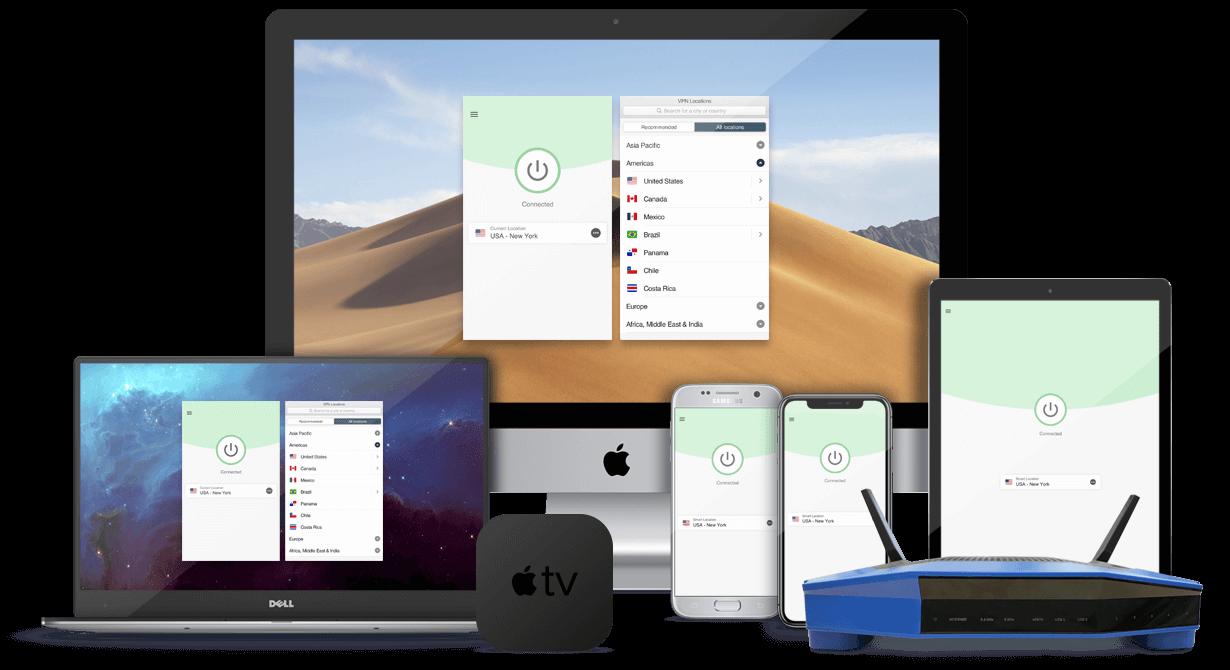 ExpressVPN for multiple devices