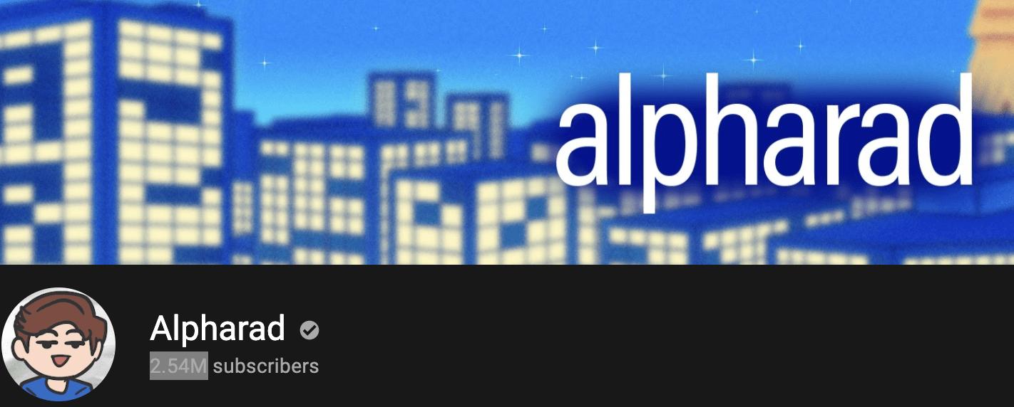 Alpharad Banner main