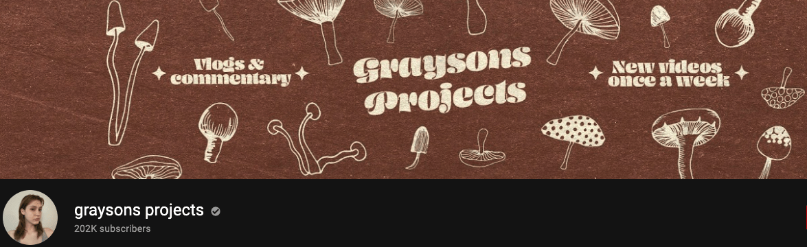 Graysons Projects Banner
