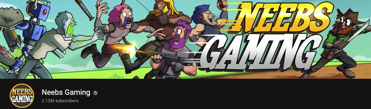 Neebs Gaming Banner