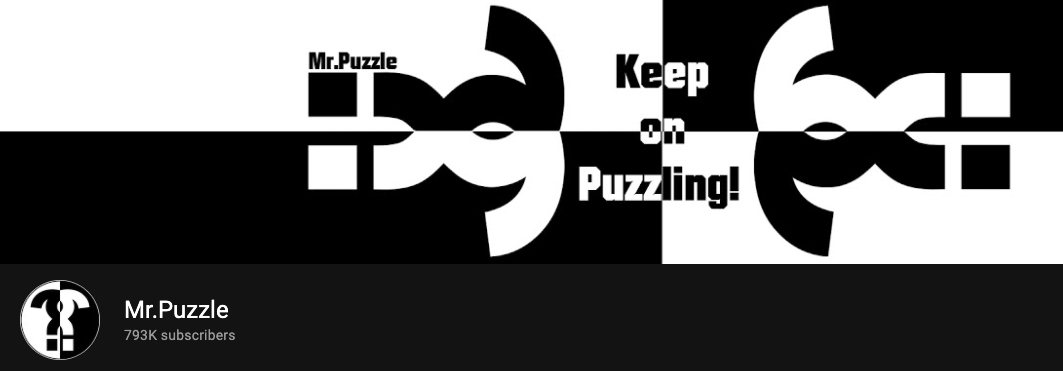 MR.Puzzle YouTube Banner image